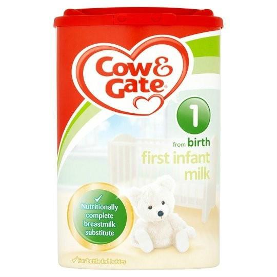 【精品推荐】Cow &amp Gate 牛栏 婴儿配方奶粉1段 (0-6m)900g