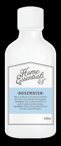 【新西兰PD】【凑单品】Home Essentials 玫瑰花水爽肤水 200ml NZ$5.9/约¥28