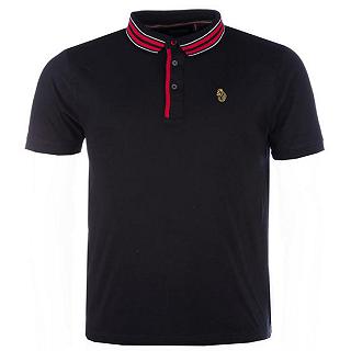 【返校特惠,全场立减】Luke 1977男士纯棉休闲短袖Polo衫,4.5折报价为£26.99(约¥233)
