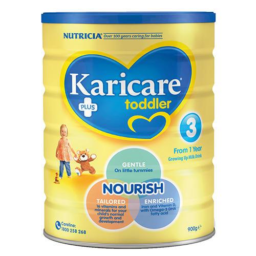 Karicare 可瑞康 婴幼儿配方奶粉3段(1岁及以上)900g