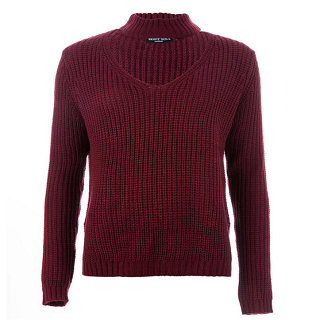 【返校特惠,全场立减】Brave Soul女士长袖针织衫,6折报价为£14.99(约¥129)