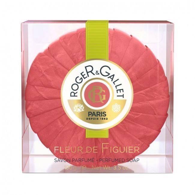 【邮费特惠+8折+满减】Roger &amp Gallet 香邂格蕾Fleur de Figuier 无花果香皂 100g