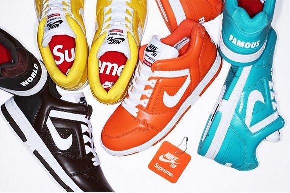Supreme x Nike SB全新联名Air Force 2系列发布
