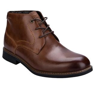 【品牌大集合】Rockport 男士经典尖头高帮皮靴,4 8折报价为£54 99(约¥476)