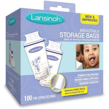【美国Babyhaven】 【品牌专场3件9折】Lansinoh 兰思诺 母乳储存袋 100个