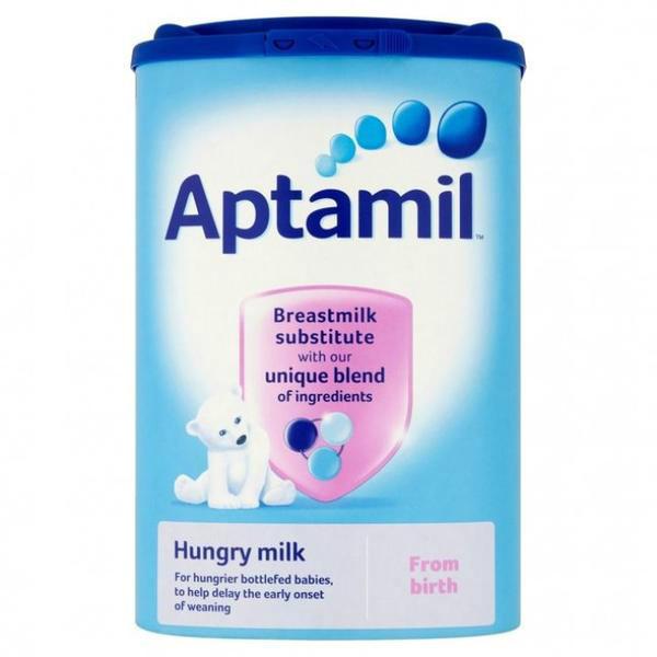 【精品推荐】Aptamil 爱他美 抗饿配方奶粉(0-12m 大食量婴儿) 900g