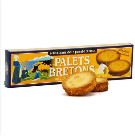布列塔尼 鲜奶黄油酥饼 40g 新人注册50欧礼包+9折优惠+满68欧减6欧 码:BM06
