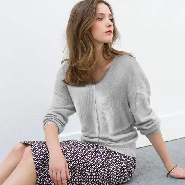 【法国LR】初秋新品限时满减:女士混羊绒针织衫折后低至256元!