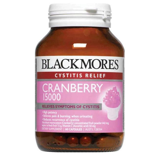 Blackmore 澳佳宝蔓越莓精华胶囊60粒 抗氧化