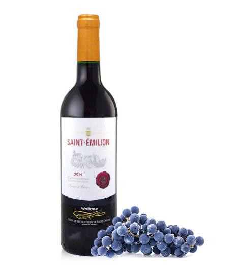 【包邮装】Waitrose 圣埃美隆法国红酒 750ml 商品价格:189元