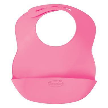 【满$75减$5】Summer Infant 婴儿专家 冲洗可折叠围兜 粉色