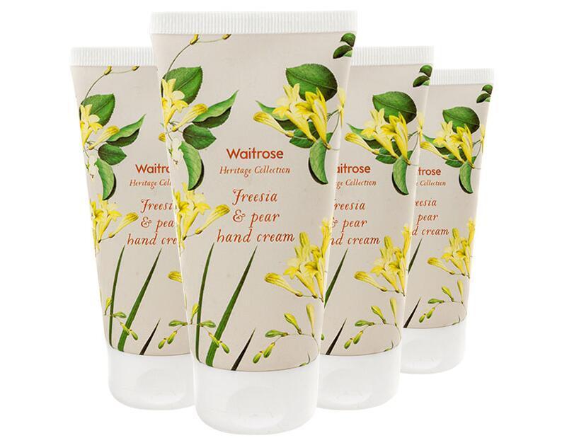 【4件包邮装】Waitrose 经典系列 小苍兰与梨子味护手霜 4x75ml /支  商品价格:79元
