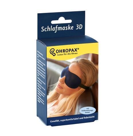 【德国BA】Ohropax 立体无痕遮光3D护眼罩 保证舒适睡眠/对眼部无压力 1个