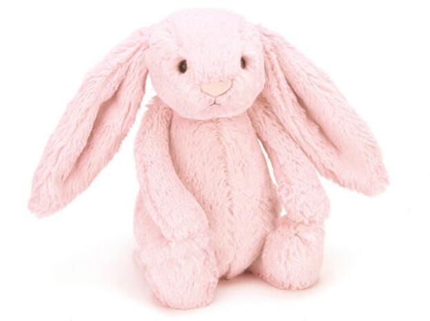 【包邮装】jellycat 邦尼兔 粉红色 中号 约31CM左右  商品价格:179元