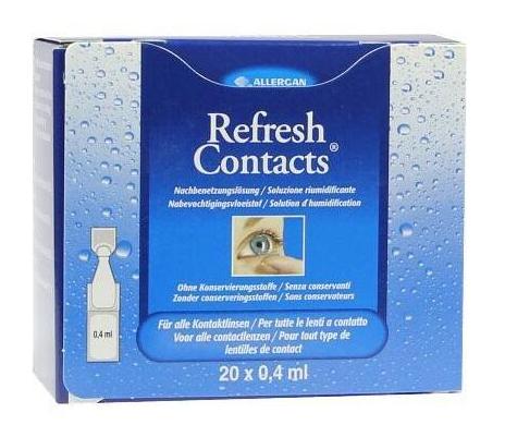 【德国BA】Refresh 滋润舒缓滴眼液 适合隐形眼镜佩戴者 缓解眼干 20x0.4ml