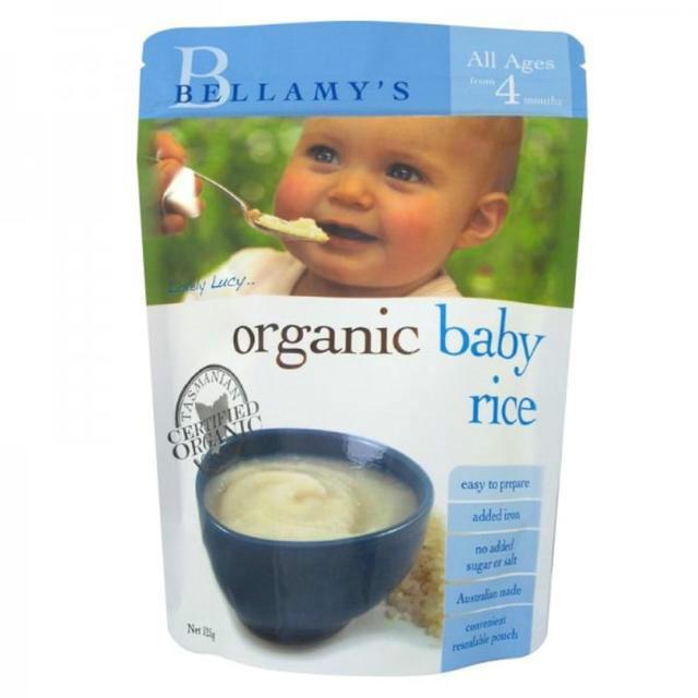 Bellamy&#039s 贝拉米 婴幼儿有机米粉米糊 125g(4个月以上)