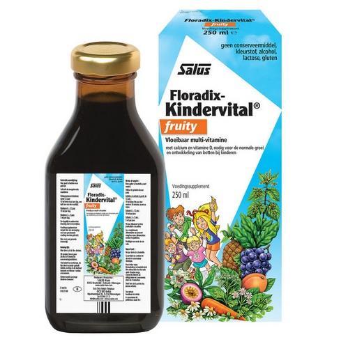 【荷兰DOD】【荷兰DOD】凑单包邮+满减:Salus 莎露斯 儿童多种果蔬维生素钙营养液 水果味 3岁+ 250ml