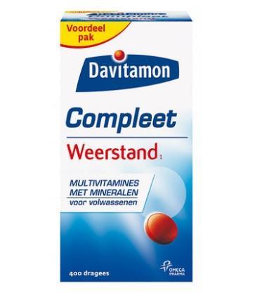 【荷兰DOD】凑单包邮+满减:Davitamon 成人复合维生素矿物质营养片 400片/瓶