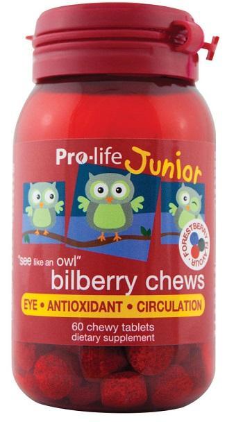【新西兰PD】【五件包邮】prolife 儿童蓝莓越橘护眼咀嚼片 60片 仅需NZ$12.1/约¥58