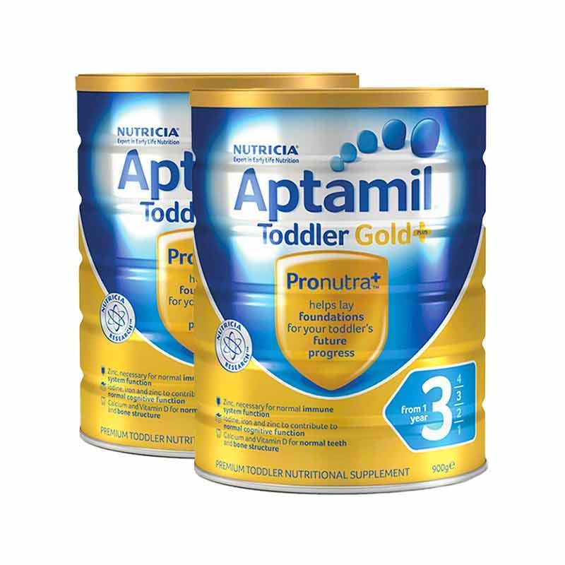 【新西兰PD】【奶粉补货】Aptamil 爱他美 金装版婴幼儿奶粉 900g 3段 6罐包邮装 NZ$266/约¥1262