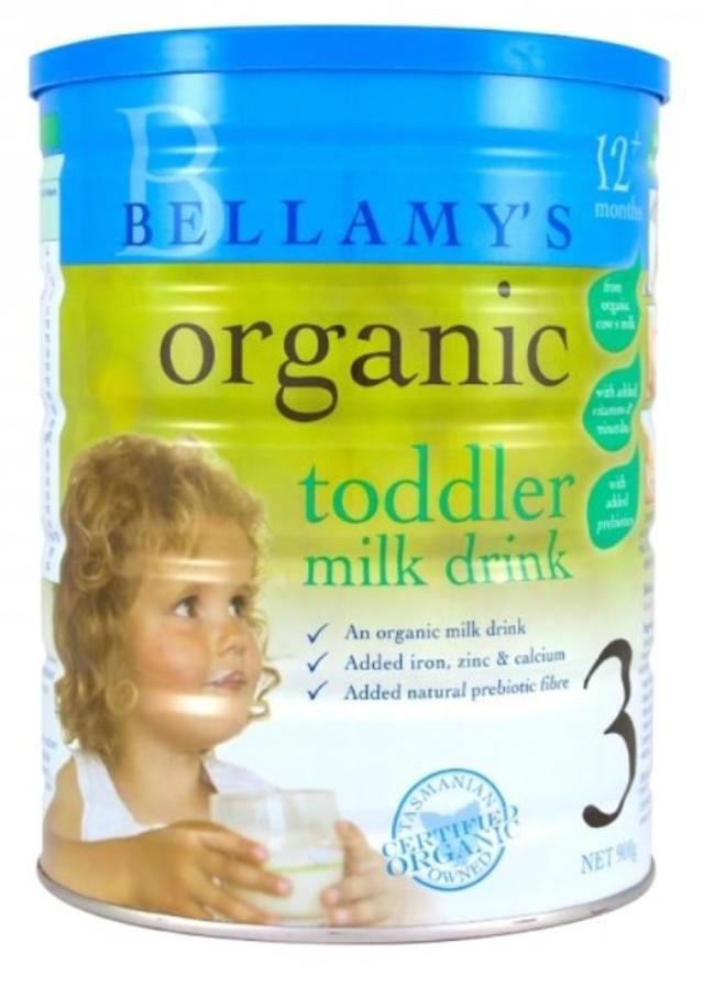 Bellamy& 039s 贝拉米 有机婴幼儿配方奶粉 3段 1岁以上 900g
