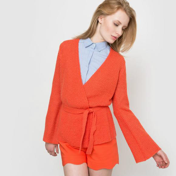 【法国LR】秋装闪促全场5折:SOFT GREY羊毛混纺开衫折后仅需228元!