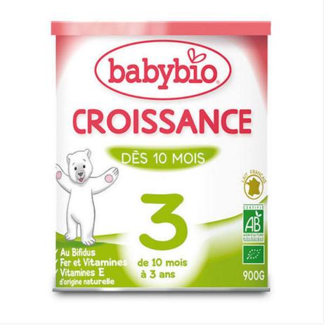 法国高端有机奶粉  AB认证不含棕榈油900g 全场满78欧免邮4kg内 用码YF78 叠加 伴宝乐单品9折