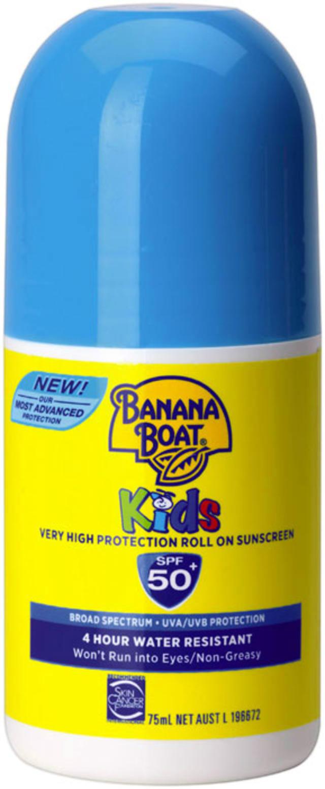 Banana Boat 香蕉船 儿童滚珠型防晒霜 75ml(SPF 50+)