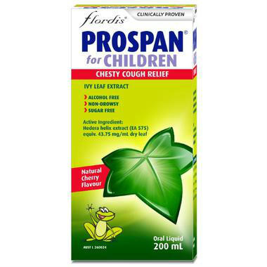 【活动特价】Prospan 小绿叶 常春藤糖浆 200ml (小儿适用)
