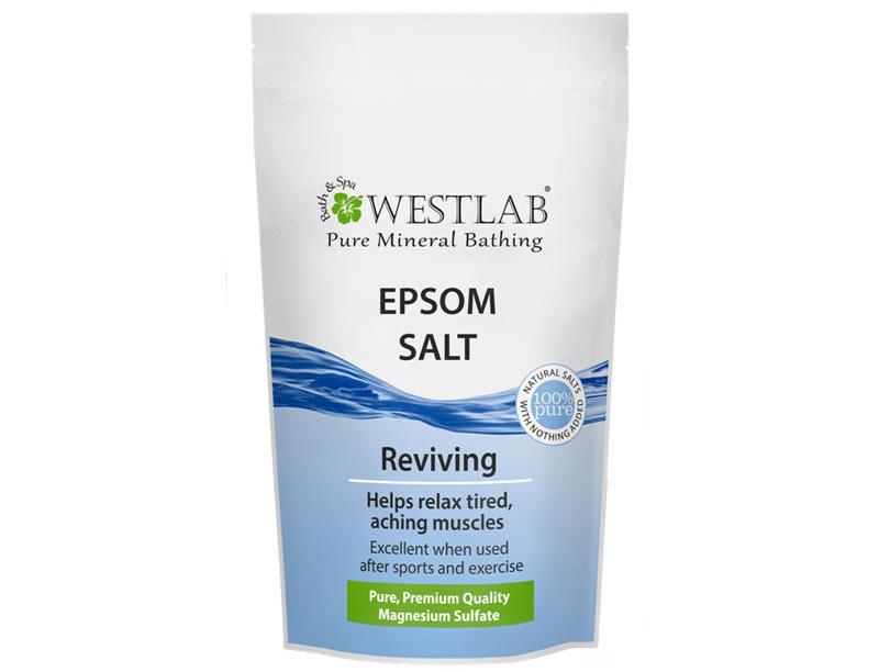 【包邮装】Westlab 泻盐硫酸镁洗澡泡澡浴盐 1kg 袋 商品价格:98元
