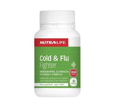 【满78钮减8钮+5钮】NutraLife 纽乐抗感冒胶囊 50粒 有效对抗感冒