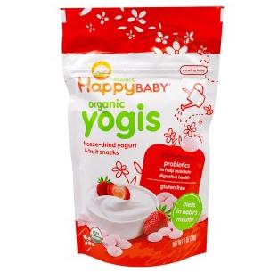 happy baby禧贝 有机酸奶溶豆 草莓味 28g 折后$3 92,到手¥25,还可叠加多种优惠