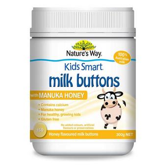 澳洲Nature's Way 佳思敏 钙+麦卢卡蜂蜜扣型奶片 150片 秒杀史低价AU$9.99,约53元
