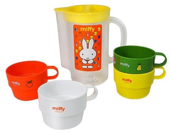 SKATER Miffy KS32S 米菲杯子便携套装 降至新低967日元,约¥57