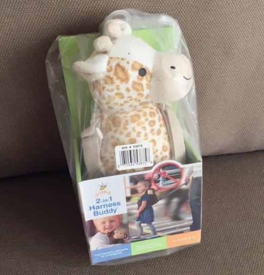 Goldbug Animal 2 合 1 防走失背包 长颈鹿款 $11 99(约¥79)