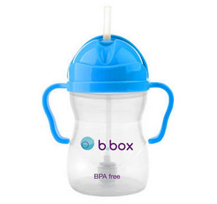 B.box婴幼儿重力球吸管杯 防漏 240ml (6个月以上) 好价AU$12.95,约68元