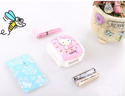 明星同款VAPE5倍HELLO KITTY儿童驱蚊手表 特价809日元,约¥48