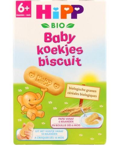【荷兰DOD】包邮+满减最后一天!凑单品:Hipp 德国喜宝 有机婴儿磨牙饼干(6m+)150g约¥17