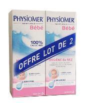 Physiomer 菲丝摩尔 婴幼儿专用微扩散鼻腔清洁喷雾 135ml2支装