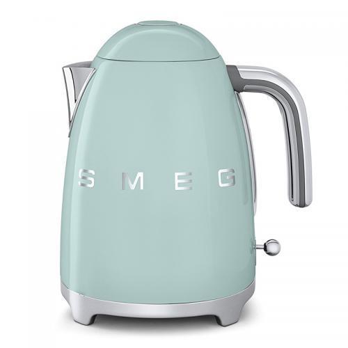 历史最低价1280!德国直邮 SMEG斯麦格可控温式电热水壶 青草绿 KLF01