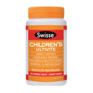 【下单立减4澳,最高立减20澳】【5折优惠】Swisse 儿童多种维生素多矿物质抗氧化草本营养片