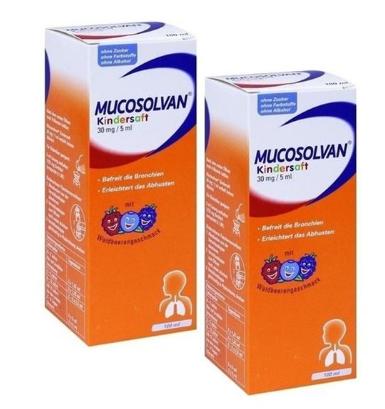【德国BA】Mucosolvan 沐舒坦儿童糖浆100ml 2瓶装