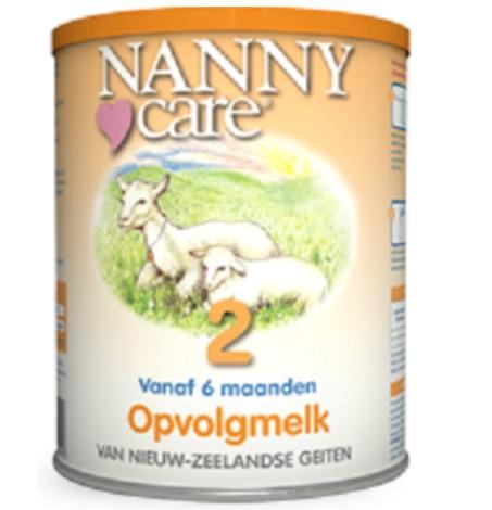 【荷兰DOD】用码满88欧包邮:Nanny Care 婴儿羊奶粉 2段(适合6个月以上婴幼儿)900g