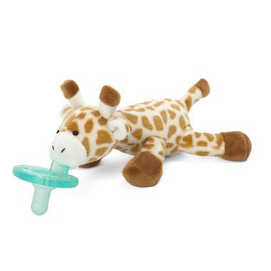 【美国Babyhaven】WubbaNub 婴儿长颈鹿安抚奶嘴 毛绒玩具
