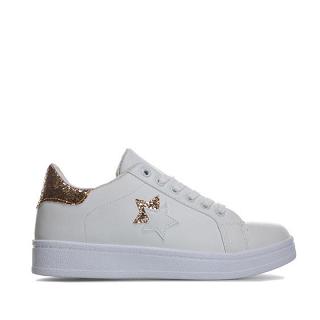 【购满£60,邮费低至£1 99】Brave Soul女士星星图案休闲运动鞋,5 7折报价为£19 99(约¥173)