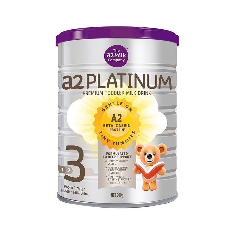 【新西兰PD】【奶粉补货】A2 白金版婴幼儿奶粉 900g 3段 (6罐包邮装) 仅需NZ$294/约¥1422