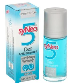【德国DC】SYNEO 5 长效低敏止汗滚珠 效果长达5天/不含香水 50ml