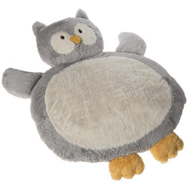 【美国Babyhaven】Mary Meyer 宝宝地毯垫毯 灰色小猫头鹰