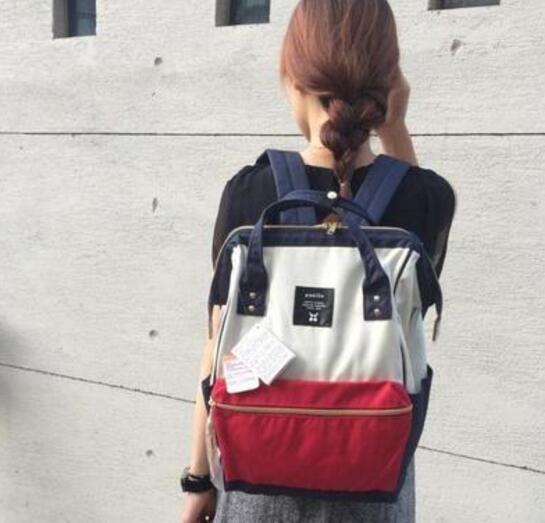 日本潮流街包anello 时尚双肩包AT-B0193A 新降价2773日元,约164元