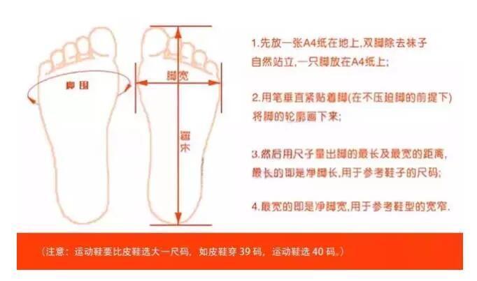 美国海淘必看经验贴:鞋子尺码选择攻略